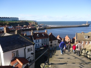 Whitby's 99 steps