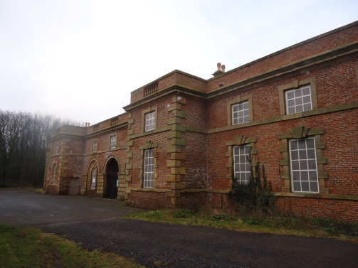 The magnificent old stables.
