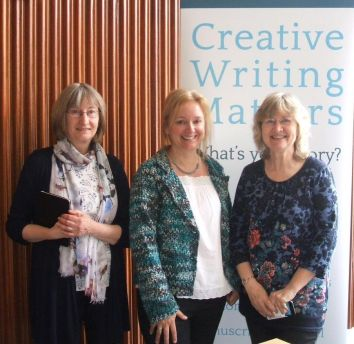 CreativeWritingMatters: Margaret James, Sophie Duffy and Cathie